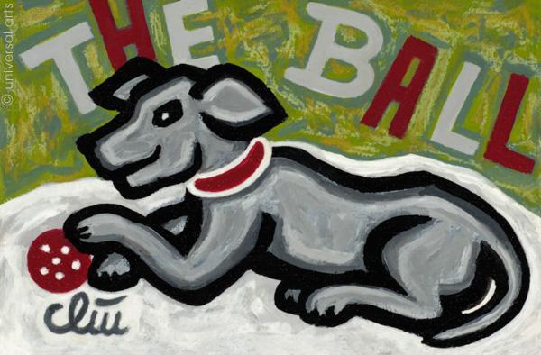 Bull /& Bear ltd.sign.Original Druck Grafik 13x18 cm Bulle Bär JACQUELINE DITT